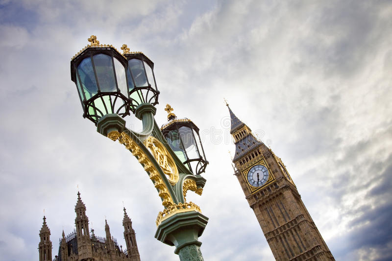 symboler london royaltyfria foton