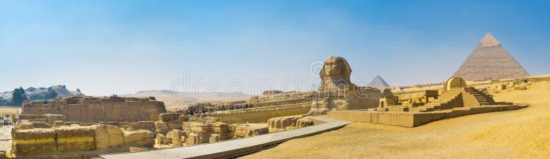 Symbolerna av Egypten arkivbilder