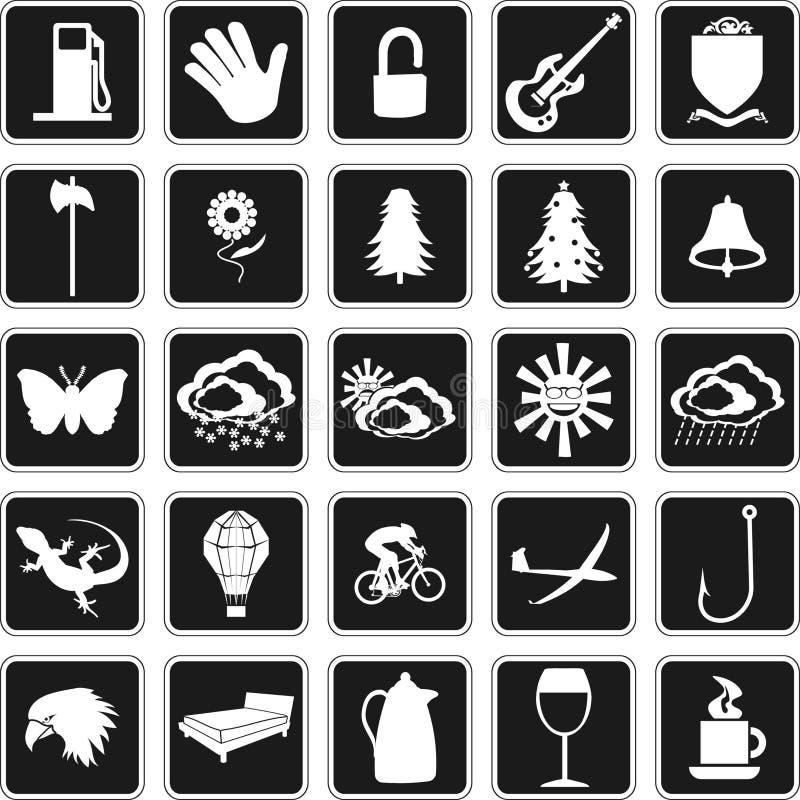 Symboles illustration stock