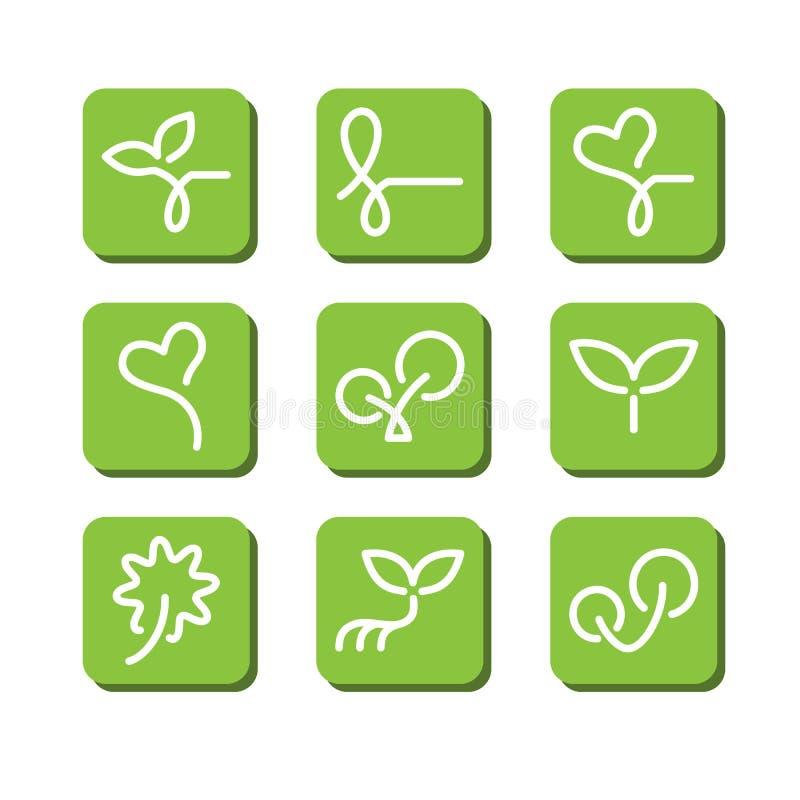 Download Symboles abstraits illustration de vecteur. Illustration du internet - 45369726