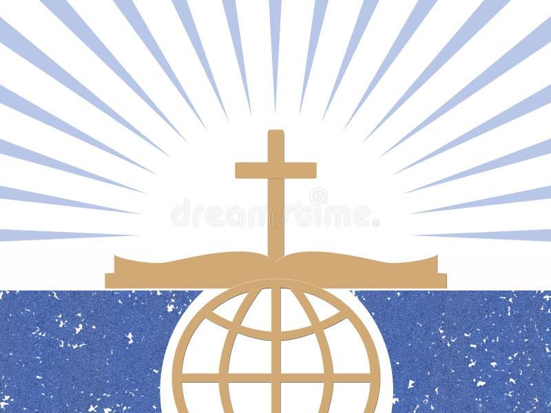 Symboles abstraits de chrétiens illustration libre de droits