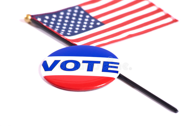 Symboles d'élection photos libres de droits