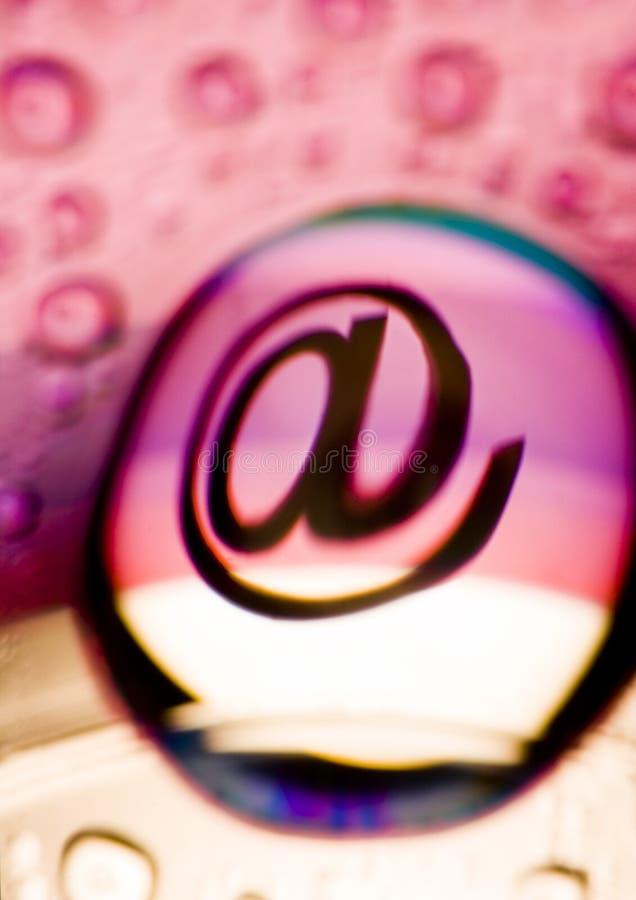 Symboles d'Internet images libres de droits