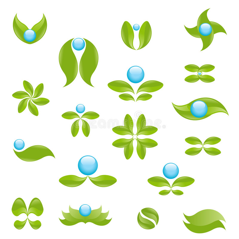 symboles de nature illustration de vecteur