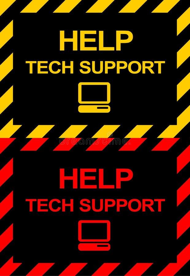 Symboles de support de Techical illustration libre de droits