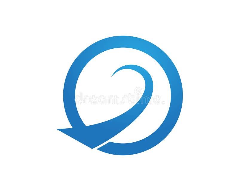 Symboles de vecteurs de logos de finances d'affaires illustration de vecteur