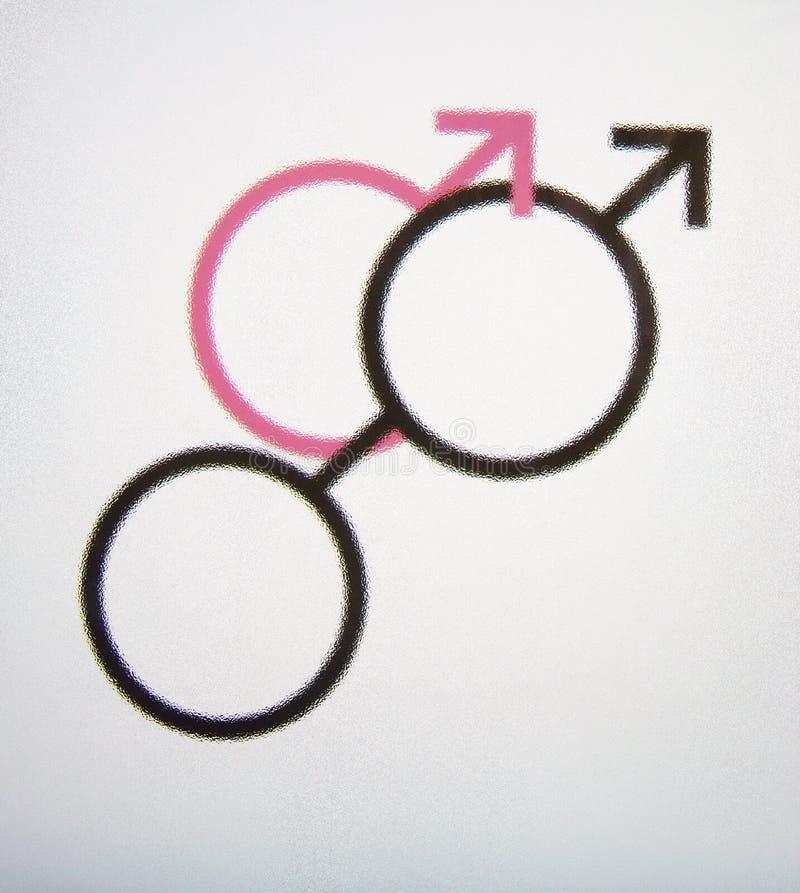 Symboles sexuels mâles illustration de vecteur