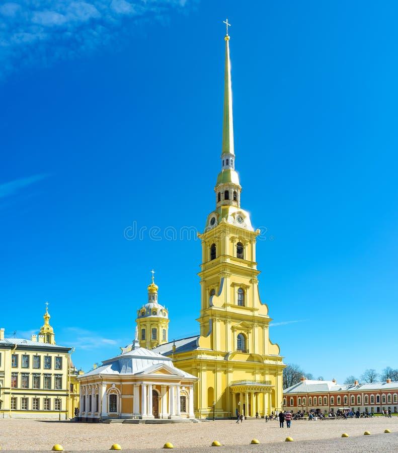 Symbolet av St Petersburg, Surria arkivfoto