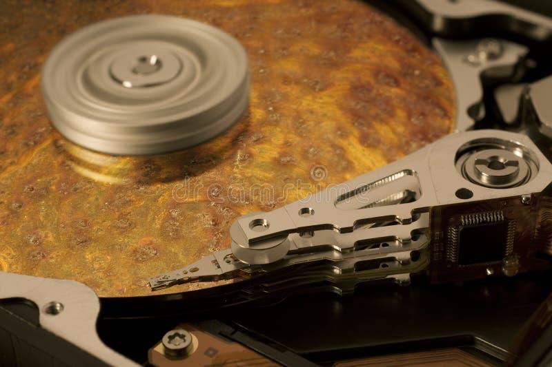 Symbolic data corrosion royalty free stock images