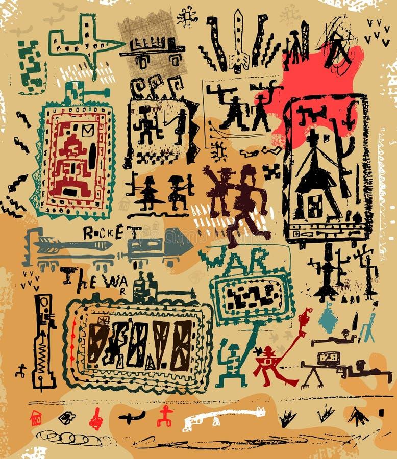 War royalty free illustration