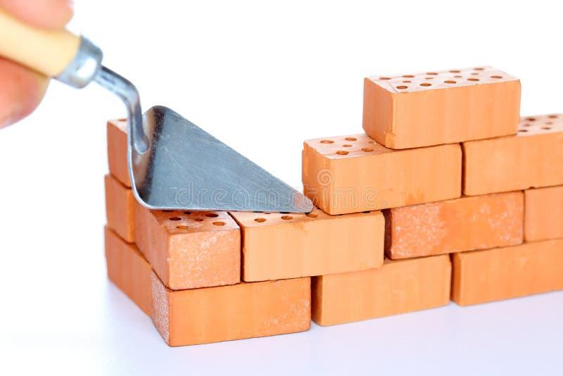Symboliczny buildup ściana zdjęcia stock