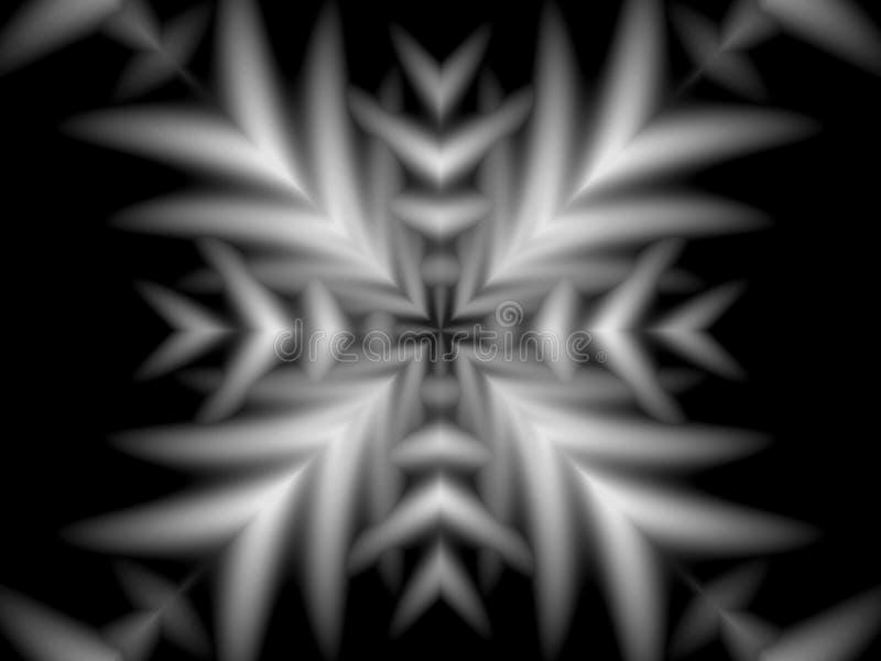 Symbolisch en overladen patroon stock illustratie