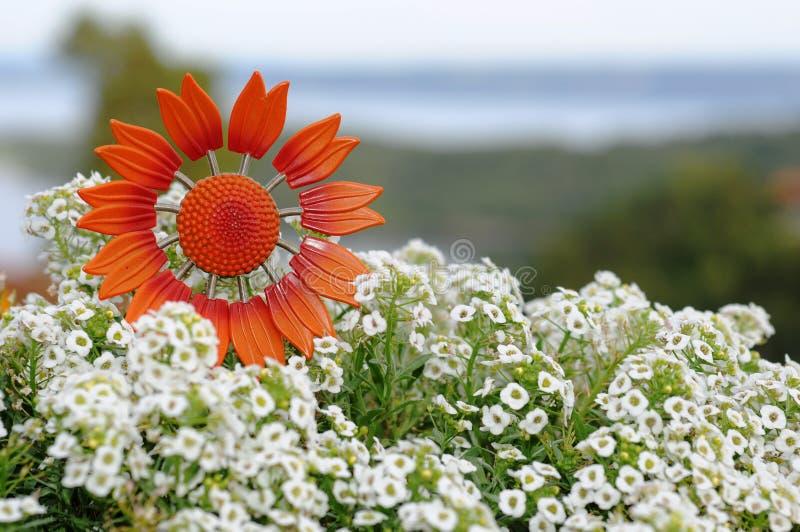 Symbolische bloem stock afbeelding