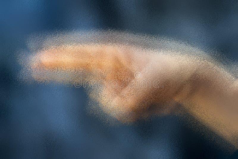 Symbolisk gest av ett tonårigt arkivbilder