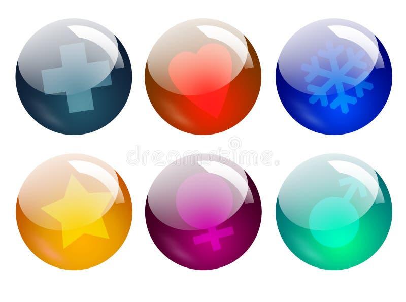Download Symbols stock illustration. Image of yellow, transparent - 522074