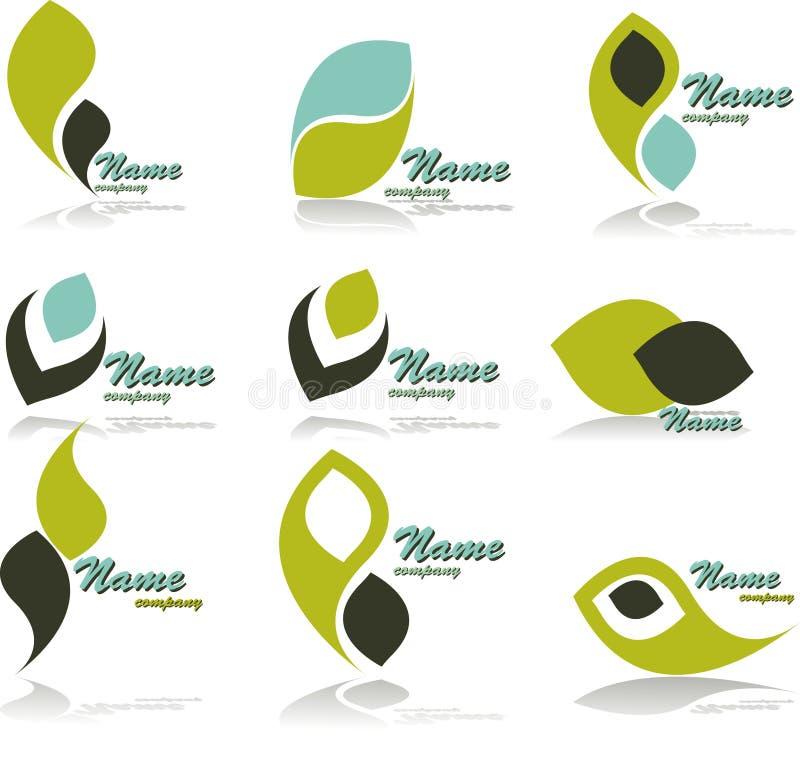 Symbols. Set of vector symbols for design.See a lot of high-quality vector logo in my portfolio stock illustration