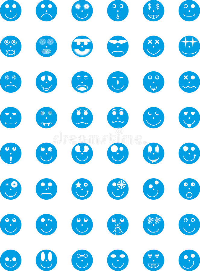 Download Symbols, Badges, Icons With Expressions Of Persons Stock Images - Image: 14587634