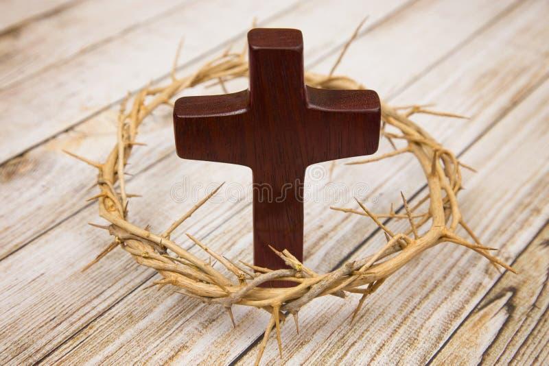 Symbols of Christianity stock photo