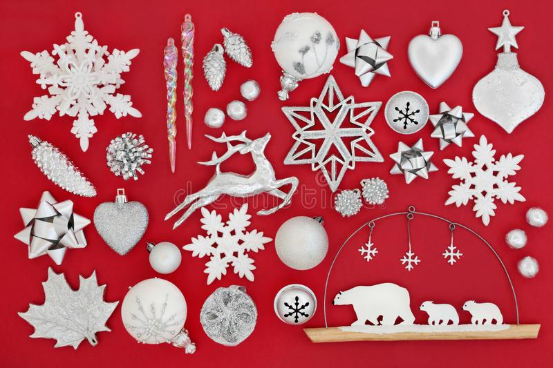 Symbols of Christmas stock photography