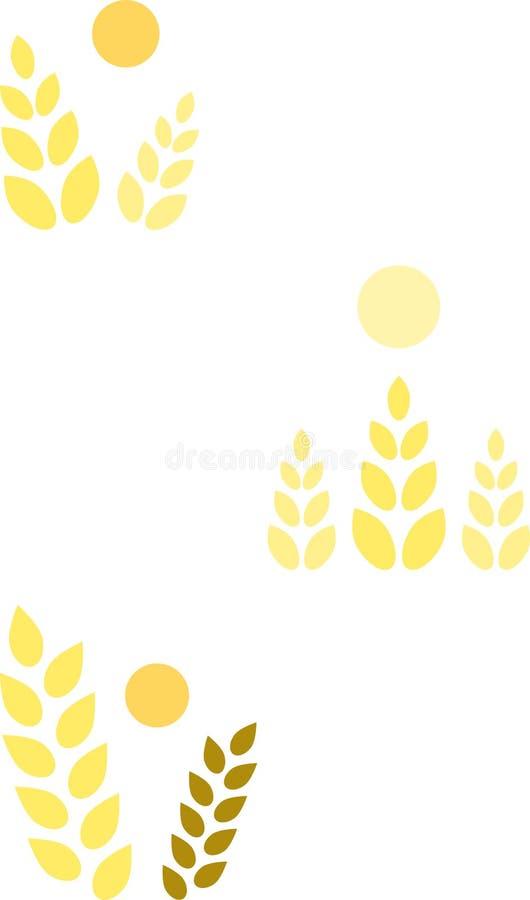 Download Symbols/icons: Summer Grain (II) Stock Vector - Image: 10682262