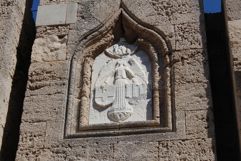 Symbols The Knights Of Malta Stock Image Image Of Facade Building