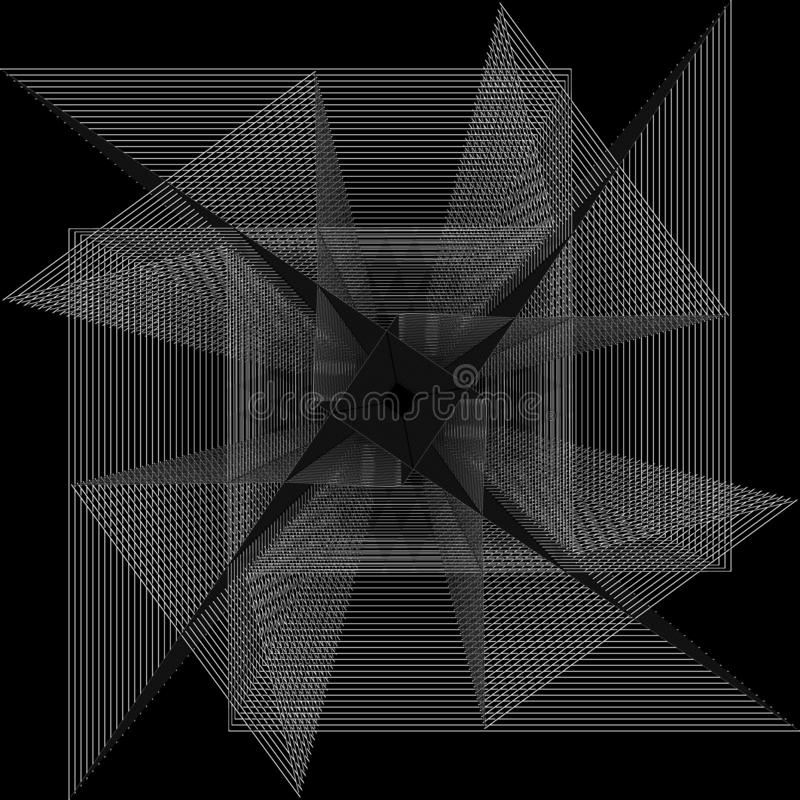 Flower 3d geometry of nature stars and flakes. Symbols of sacred geometry, depict fundamental aspects of space and time.Flower of life symbol variations vector illustration