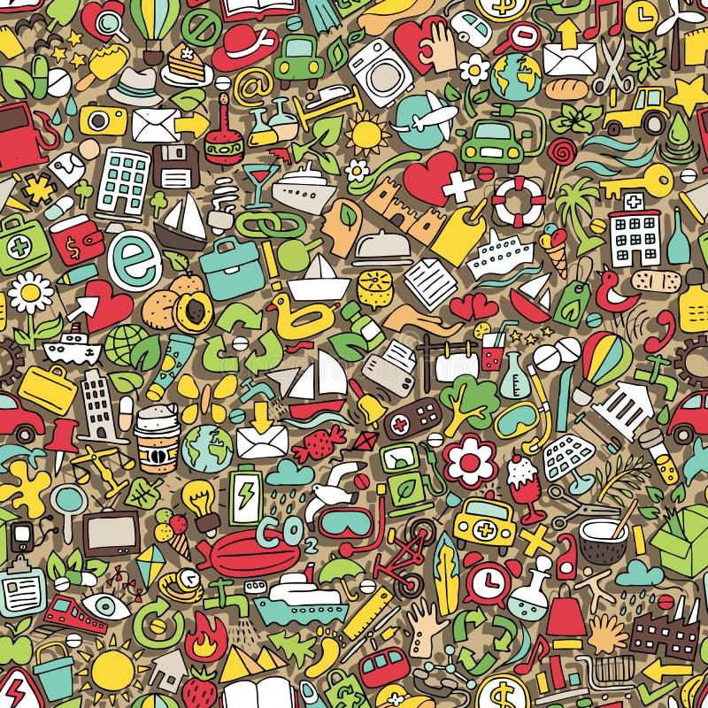 Download Symbols seamless pattern stock vector. Illustration of background - 39042964