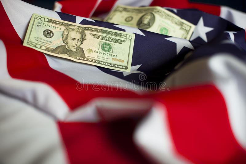 Symbols of US stock image