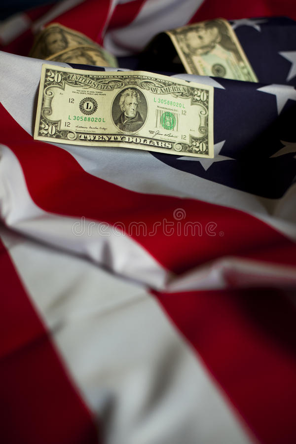 Symbols of USA stock photography