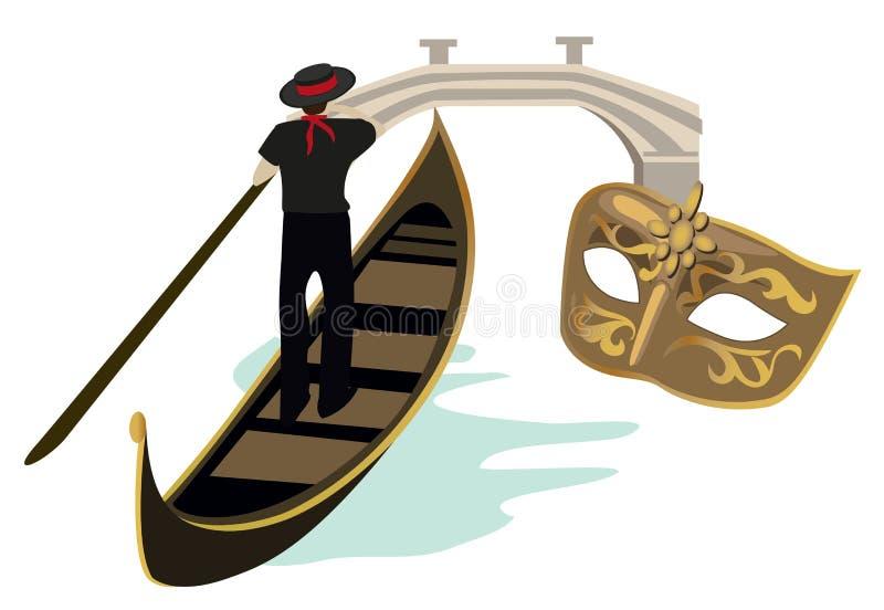 Symbols Of Venice Royalty Free Stock Photography