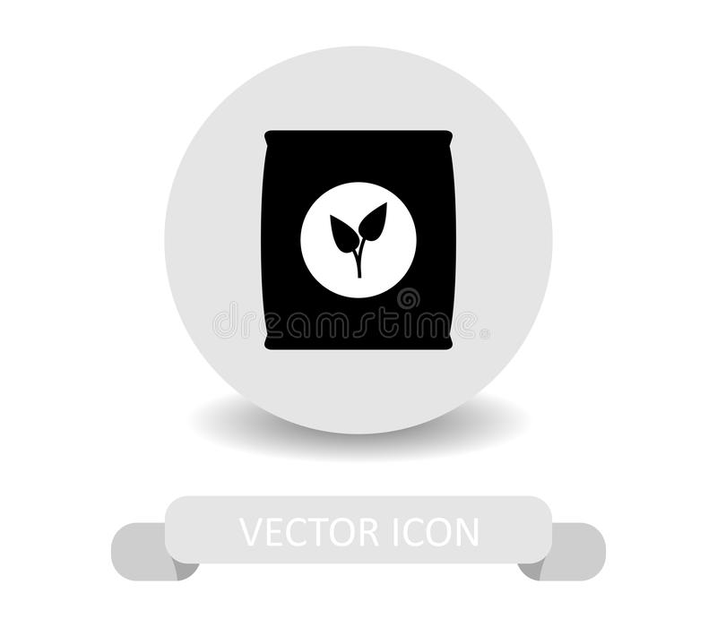 Symbolsgödningsmedel stock illustrationer