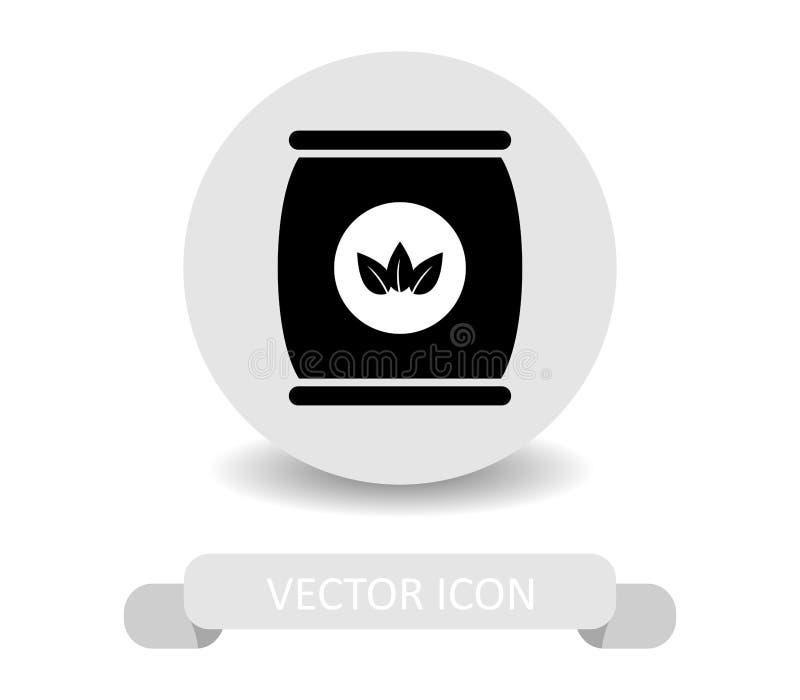 Symbolsgödningsmedel vektor illustrationer