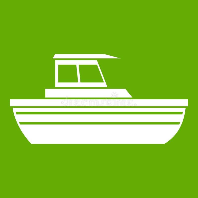 Symbolsgräsplan för motoriskt fartyg vektor illustrationer