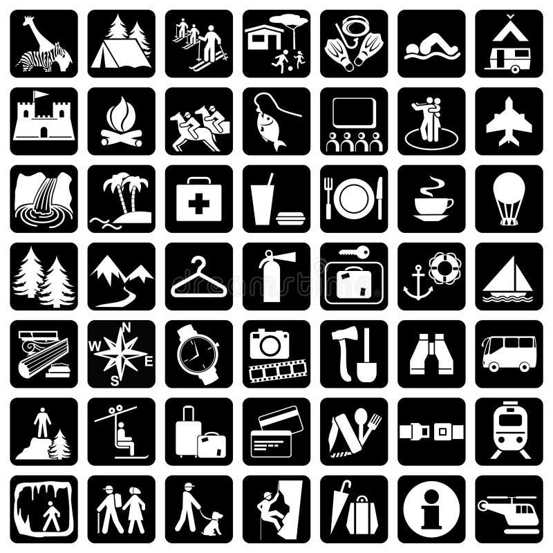 symbolslopp vektor illustrationer