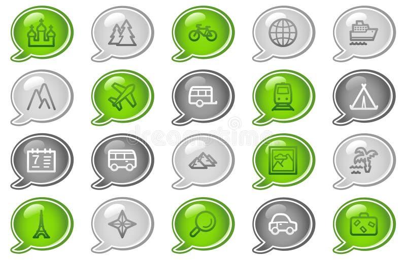 symbolslopprengöringsduk stock illustrationer