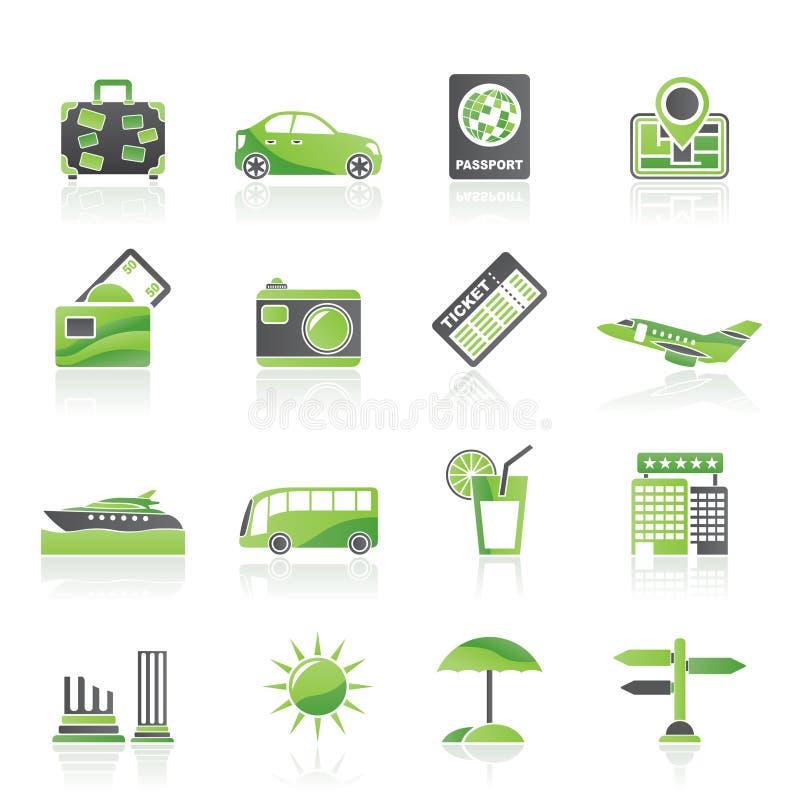 symbolsloppsemester vektor illustrationer