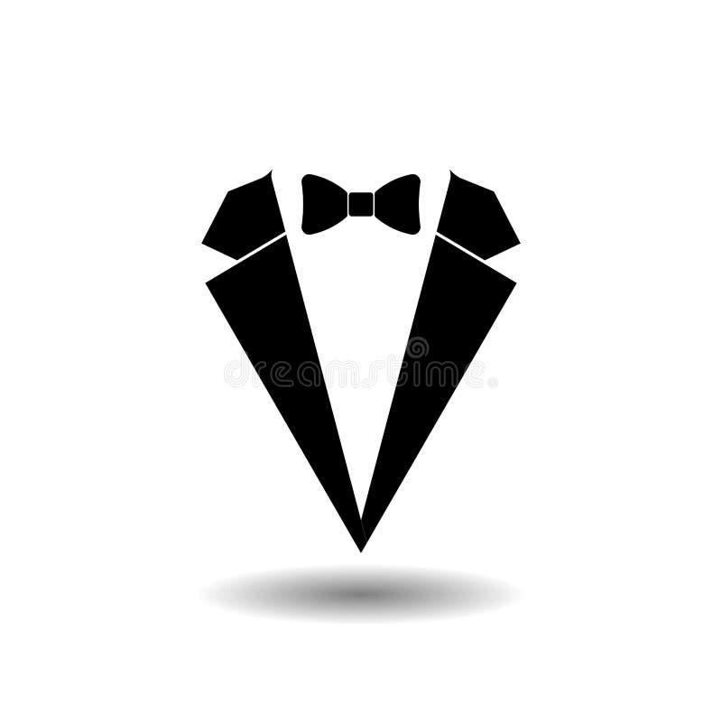 Symbolsmandräkt, stil, pålitlighet royaltyfri illustrationer