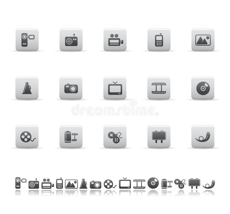 symbolsmedelrengöringsduk stock illustrationer