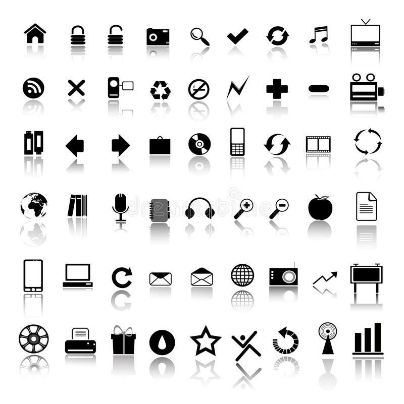 symbolsrengöringsduk vektor illustrationer