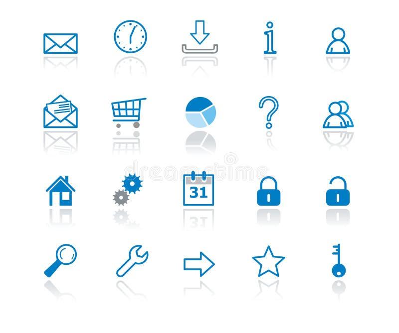 symbolsrengöringsduk stock illustrationer