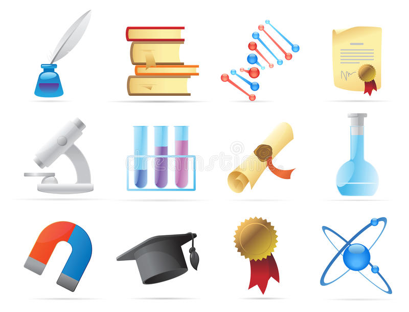 symbolsvetenskap stock illustrationer