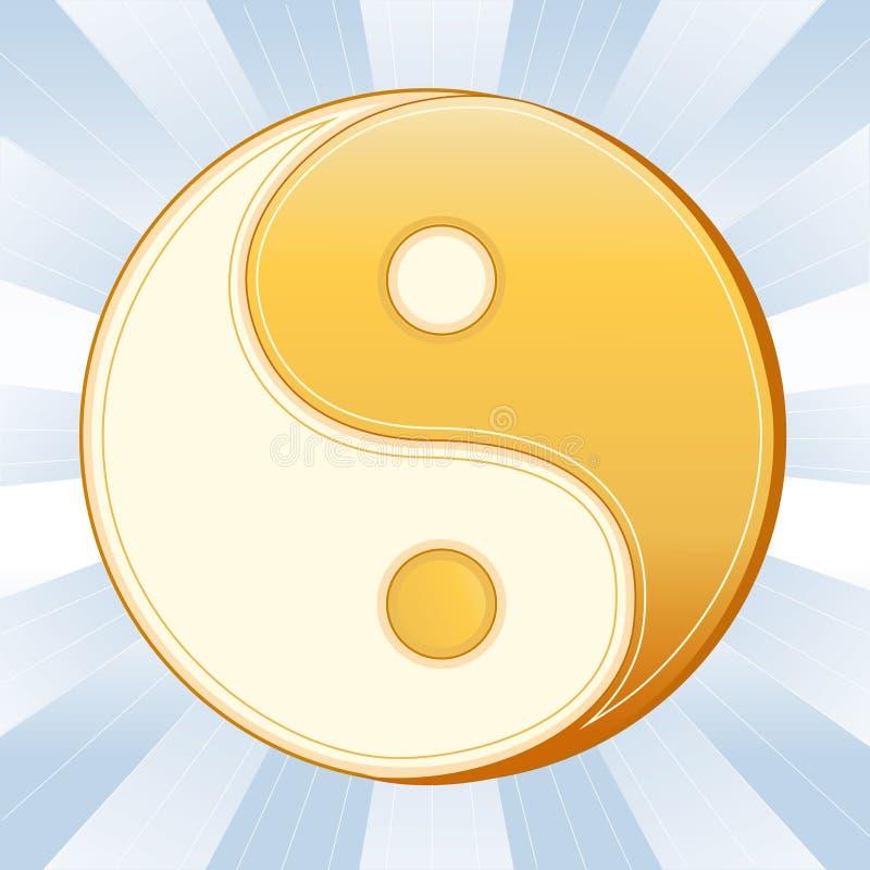 symbolu taoism ilustracja wektor