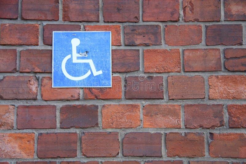 symbolu wózek inwalidzki zdjęcia royalty free
