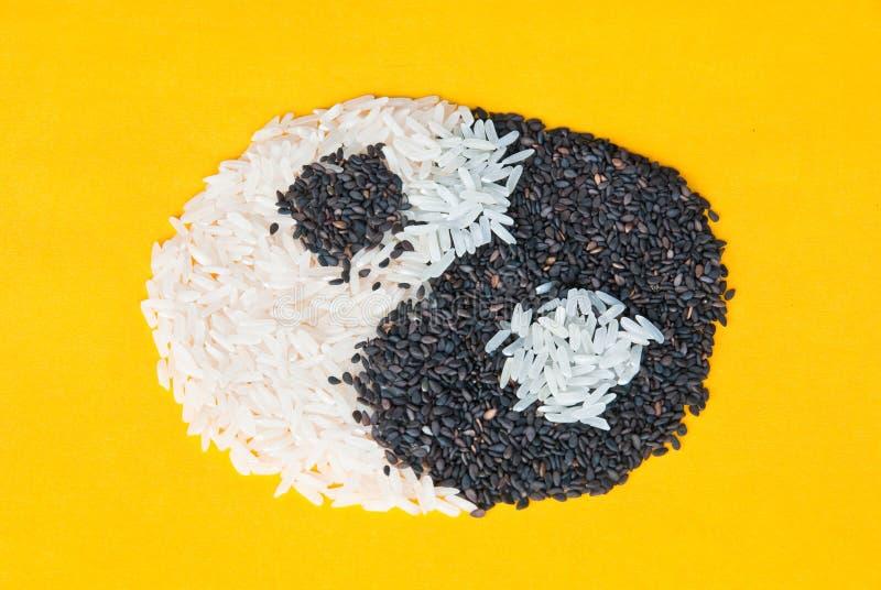 symbolu Yang yin zdjęcie royalty free