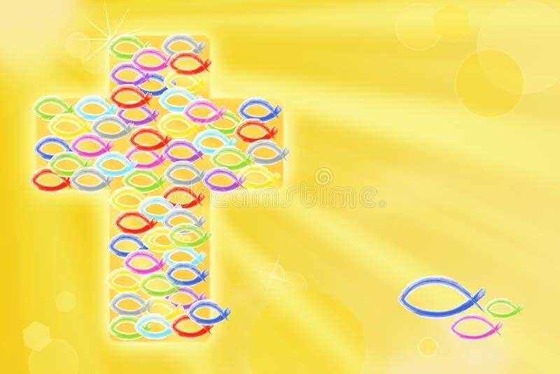 Symbool van christendom royalty-vrije illustratie