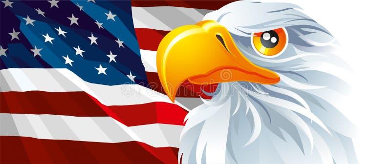 Symbool van de V.S. royalty-vrije illustratie