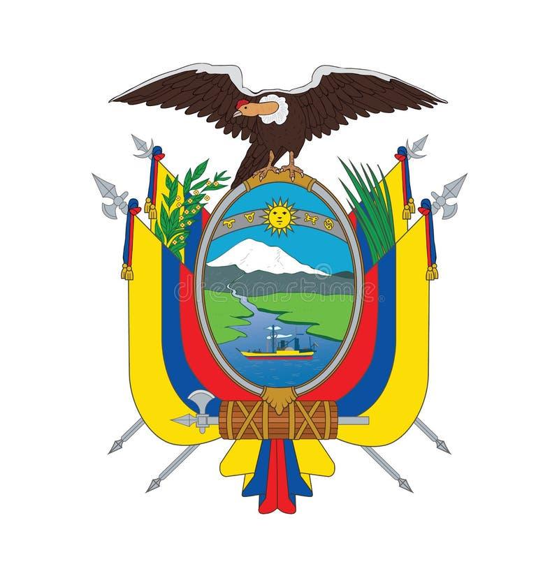 Symbool van Ecuador, vectorillustratie vector illustratie