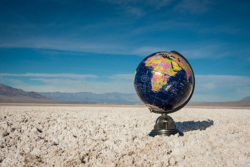 Symbool van het Globale Verwarmen stock fotografie