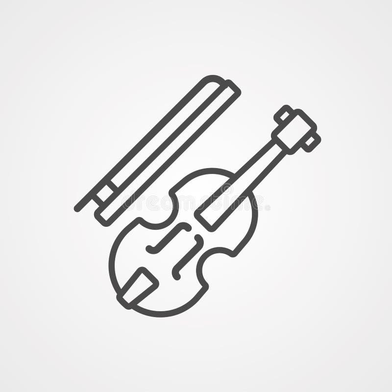 Symbool voor het gewelddadige vectorpictogram vector illustratie