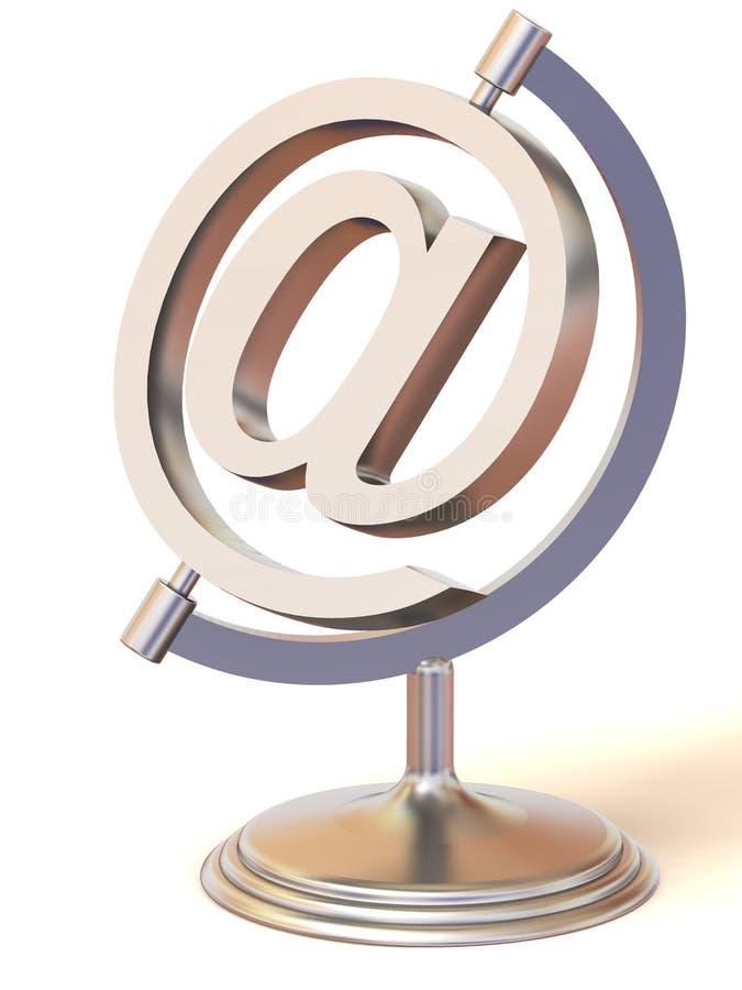 Symbool voor Internet vector illustratie
